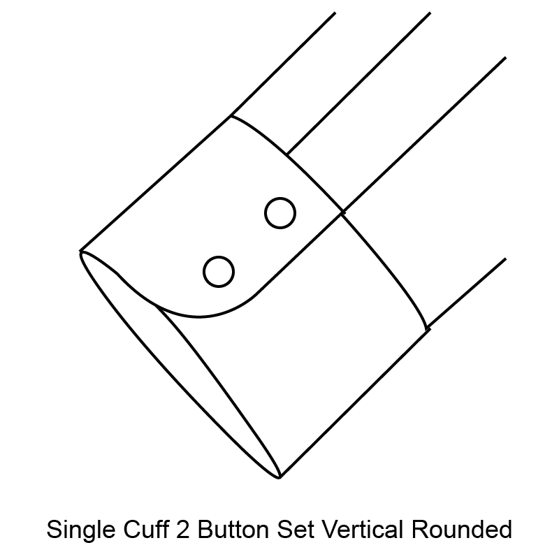 single-two-button-rounded