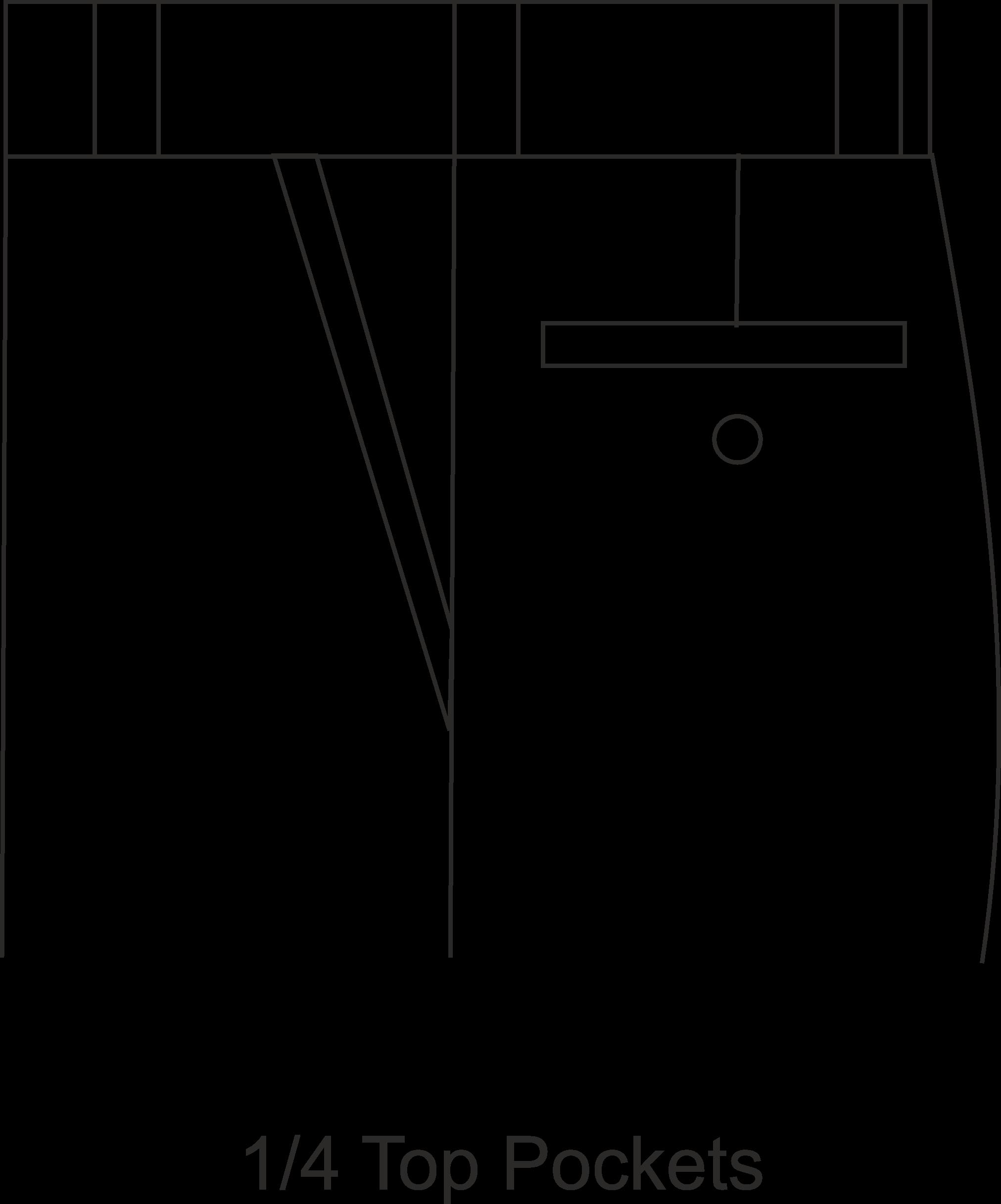 pockets-one-fourth