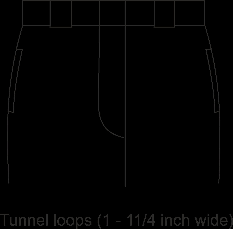 tunnel-belt-loops